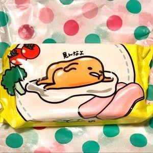 Other - Gudetama Lazy Egg San-X Sanrio wet wipes pack RARE